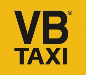logo vb taxi zlty podklad